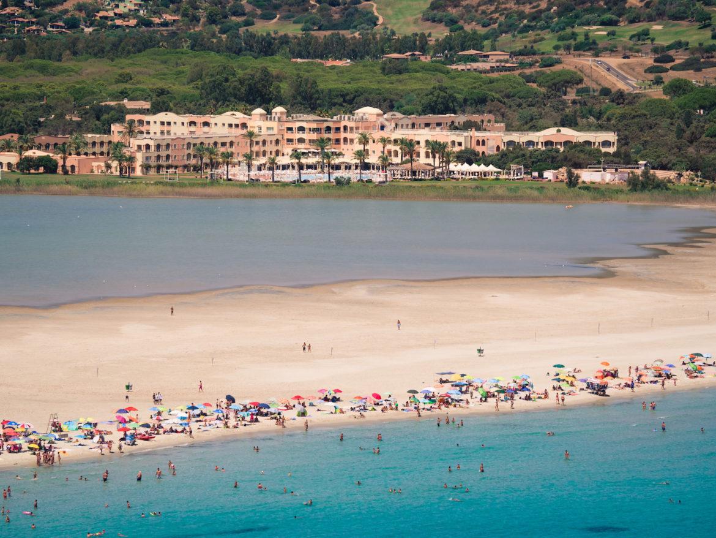 Beach of Porto Giunco, a corner of the Carbbean of Sardinia