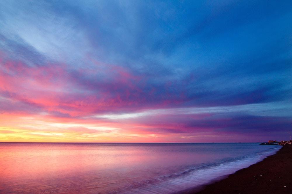 La spiaggia di Genn'e Mari, la porta sul mare